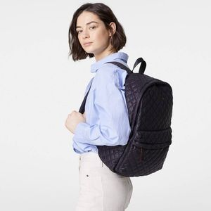 MZ Wallace 'Metro' Quilted Nylon Backpack